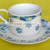 best-selling chinese white porcelain tea cup and saucer, tea set
