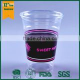 wholesale cups and saucers,plastic measuring cups with lids,450ml cold beverage cup