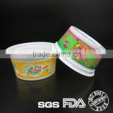 3oz disposable plastic dessert cup in mini size