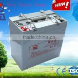 Good performance deep cycle rechargeable battery 12V55Ah for operated rickshaw