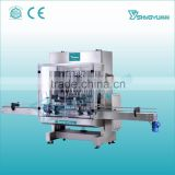 China factory manufacture stainless steel newest full automatic plastic bottle water or cream filling machine on sale