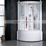 Home Steam Room Kits Steam Shower Room Jetted Shower Cabin with foot massage G251