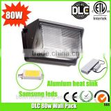 full cut-off 80w dlc led wall pack with 3 years warranty