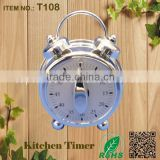 Made in China rohs kitchen mechanical alarm clock timer