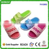 China Summer indoor women Sport PVC slippers