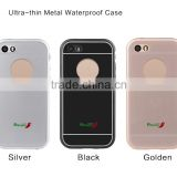 Metal waterproof phone cover
