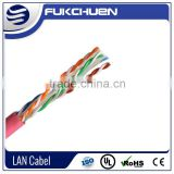CAT 5e LAN Cable/23AWG 305m/1000ft per unit 0.56/0.58mm ftp cat6 lan cable/ROHS/CMP Bare copper outdoor cat5e lan cable