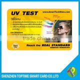 professional UV test sensor color change temperature card                                                                         Quality Choice