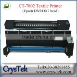 Crystek DF-7802 flag digita printer printing for fabric cotton machine