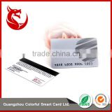 Factory supply 0.76mm printing embossed business card                                                                         Quality Choice