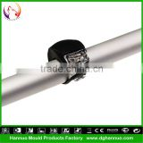 Wholesale 2 LEDs 3 modes silicone material battery powered wheels road bike light with CE&RoHs