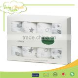 MS-09 4 pack gauze cotton sofitbaby muslin swaddle baby receiving blanket                                                                                                         Supplier's Choice