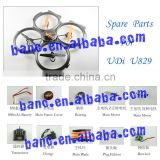 Spare Parts for UDi U829 RC Helicopter Accessories