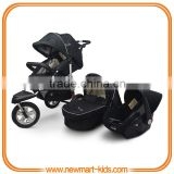 EN1888 AS/NZS2088 ASTM certificate New Design good quality baby stroller pushchair pram 3 in 1 travel system stroller