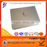 Recyclable feature tin box/tin case/tin can wholesale exquisite best selling cigarette tin box