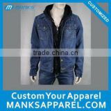 jean hoody jacket for men