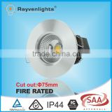 White/Black/CHROME/Sliver 7W 10W COB Fire Rated High Power LED Downlight                                                                         Quality Choice