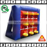 basketball tic tac toe inflatable basketball game,sports game for basketball tic tac toe