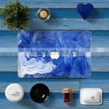sky blue shell vinyl sticker printing for laptop for macbook air 11 all size can custom