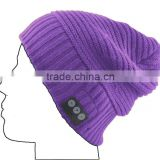 Bluetooth Headphone Beanie Hat with Mic. Listen to Music Take Calls Handsfree