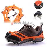 Amazon Wholesale Climbing Crampons Rubber Snow Grips Crampons for Shoes