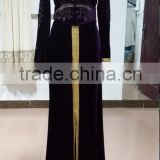 Muslim dress Islamic Clothing Arab dubai Abaya, Kaftan jalabiya gown