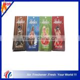 hot selling sexy girl paper air freshener for car                                                                                                         Supplier's Choice