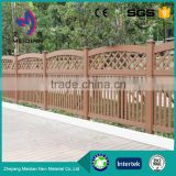 Cheap easy installation wpc composite pool picket fencing materials