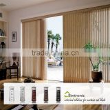 Bintronic Taiwan Curtain Track Glider Curtain Track Motorized Vertical Blinds Remote Blinds Component