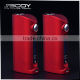S-body hot-selling tc evolv dna40 e cig battery usb mini torch 18650 batteries rechargeavle from China