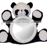 2014 New design Panda toy back seat mirror for baby