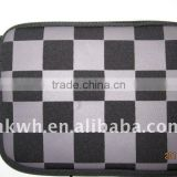 Fashion neoprene laptop bag with double-head zipper
