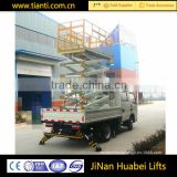 Used car mini portable man lift crane
