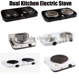 Direct Factory Cheap Price Single /Double 2 hot plate stove electric stove