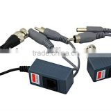 1 channel passive power video audio balun