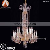 Luxury 24 Light Bohemian Crystal Chandelier for Interior Decoration