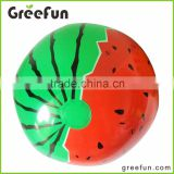 2016 New Party Supplies Kids Theme Inflatable Toy Watermelon Shape Custom Beach Toy High Quality Beach Ball For Kids