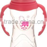 Slim waist easy grip baby powder bottle