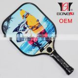 Racket factory new design pickleball paddle racket aluminium 290g