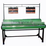 RH-VFSE SECC base Single layer Vegetable & Fruit Rack Display shelf Metal supermarket fruit and vegetable display rack