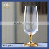 Wholesale OEM lead free clear crystal beer glass cup/ beer glass mug/woman shape beer glass