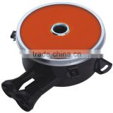 Factory wholesale two air inlet opening enamelled shell infrared ceramic burner for gas cooker