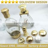 Wholesale high quality die casting metal cognac bottle caps,Metal Cognac Bottle Caps,Die Casting Cognac Bottle Caps,