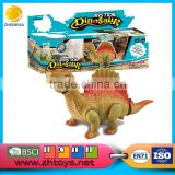 Walking with dinosaur costume with light music dinosaur king games on dinosaur park