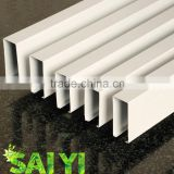 Aluminium extrusion plant for sale, u shape square tube ceiling for construction companies