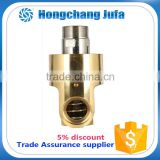 32A monoflow male threaded union pipe fitting air/water rotary joint