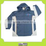 custom-made light weight men foldable windproof rain jacket