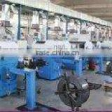 Carding machine roller card clothing metallic wire falt top