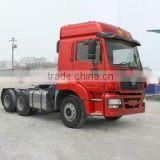 shaanxi 6*6 tractor truck for RUSSIA, truck head 375hp