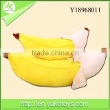 Top quality popular custom stuffed banana plush toys wholesale